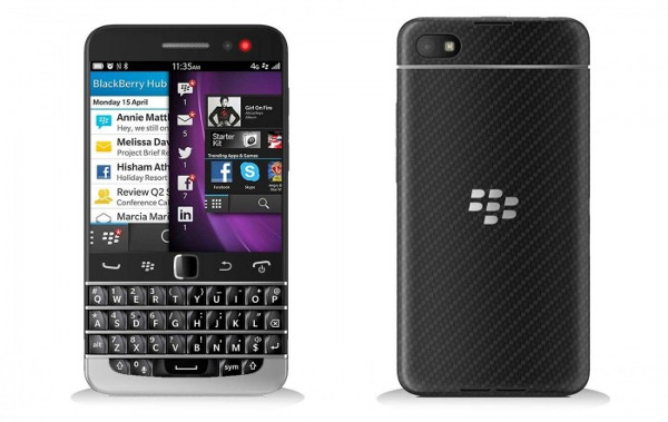 Blackberry recupera su clásico teclado QWERTY en Blackberry Q20