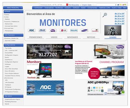 Tech Data Monitores