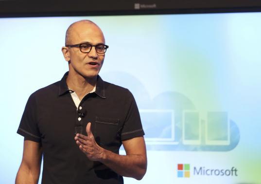 Esta ha sido la primera intervención pública de Satya Nadella, desde que llegara al mando de Microsoft