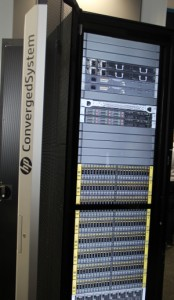 HP ConvergedSystem datacenter