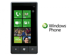 Windows phone microsoft mobile