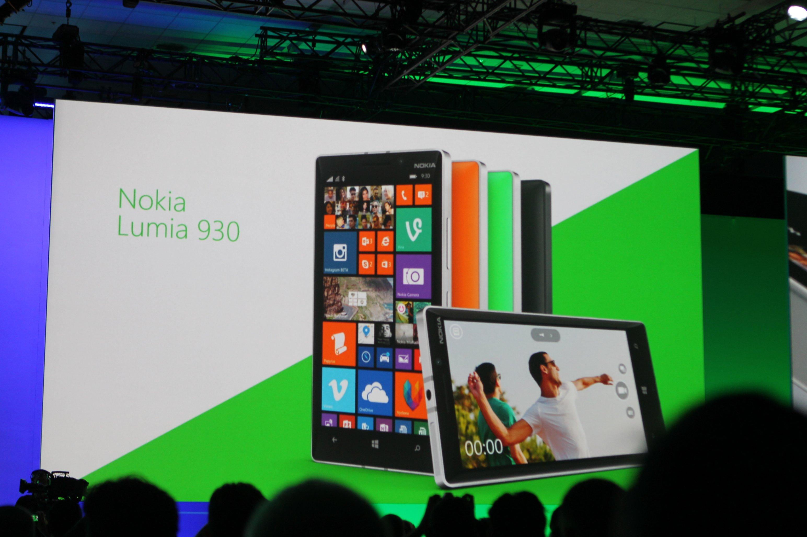 Uno de los Lumia presentados en el Build 2014, que ahora pasaría a comercializarse por la división Microsoft Mobile