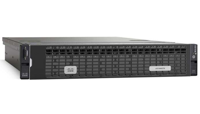 Servidor de Cisco con la tecnología de almacenamiento flash Invicta