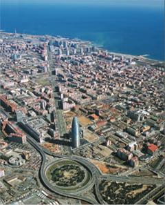El distrito 22@ de Barcelona o también conocido como distrito de la innovación.