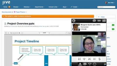 Jive ofrece a Cisco una plataforma para hacer más fáciles las comunicaciones y la colaboración.