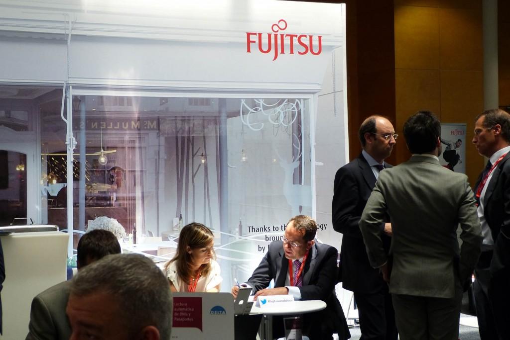 Un momento del encuentro Fujitsu World Tour 2014 celebrado en Madrid
