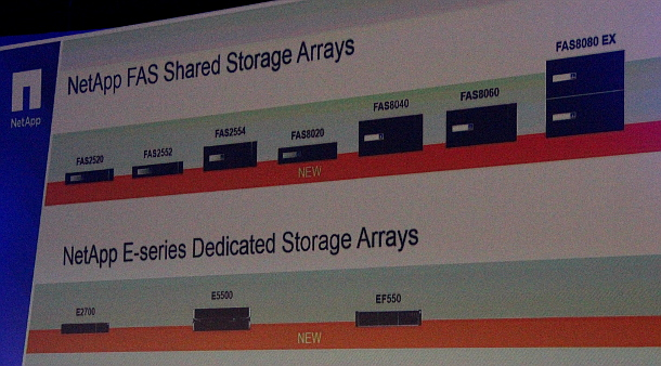 NetApp FAS Shared Storage