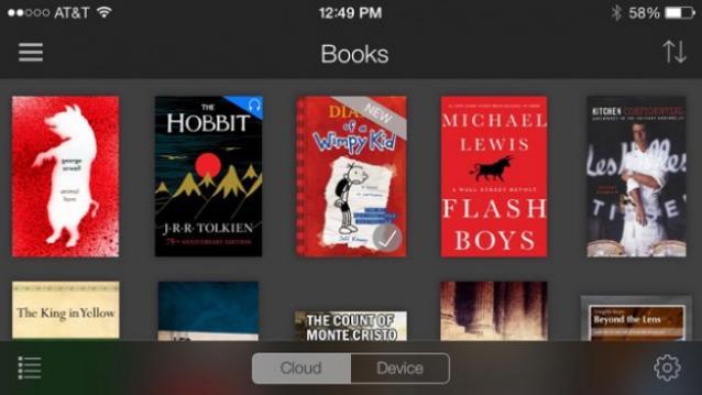 Algunos títulos de Amazon Unlimited Kindle