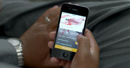 hilton app internet de las cosas