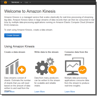 amazon web services kinesis