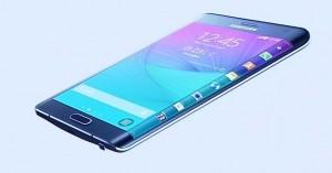 El Edge es un Galaxy Note 4, pero con una curvatura en la parte derecha de la pantalla.