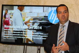 Xavier Regue, HP Impresion