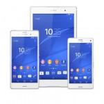 Sony en IFA:  Xperia E3, M2 Aqua y Z3, Smartwatch 3 y la tableta Xperia Z3 compact