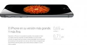 iPhone 6, explicado en la página web de Apple.