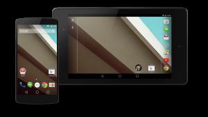 Vista previa de Android L, que Google muestra para los desarrolladores.