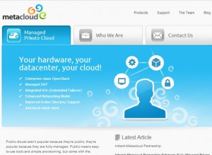 Metacloud permite a Cisco ampliar su oferta para la creación de plataformas cloud.