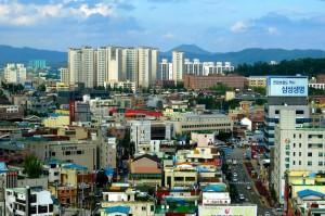 La ciudad de PYEONGTAEK, donde Samsung abrirá su planta para la fabricación de chips.
