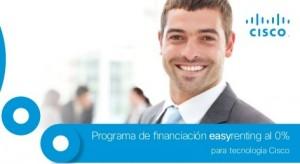 cisco easyrenting 0% financiación