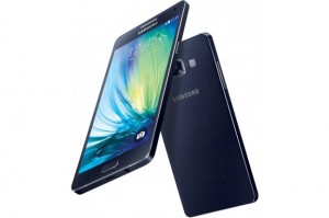 Samsung Galaxy A5 en azul.