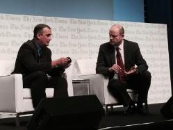 Brian Krzanich y Mark Thompson