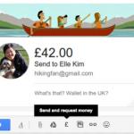El envío de dinero a través de Gmail llega a Europa