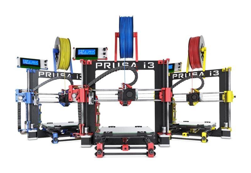 prusa i3 3d bq