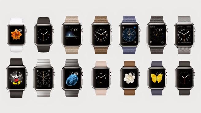 Modelos de los Apple Watch de acero que tienen un coste aproximado a los 600 dólares.
