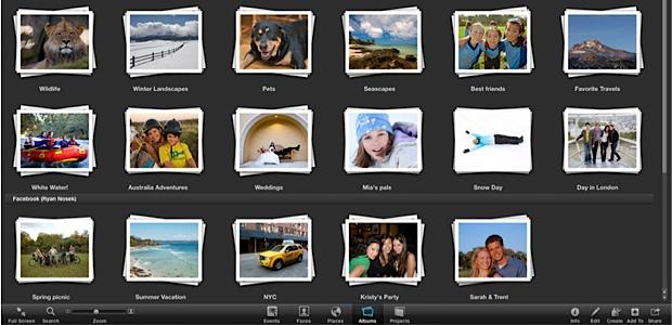 iphoto fotos album apple