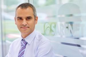 Jon Arberas, director general de Sarenet