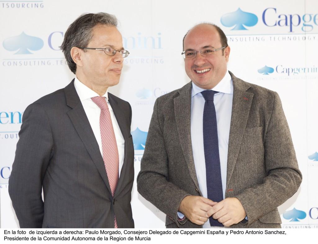 Inauguración de Capgemini en Murcia esta mañana.