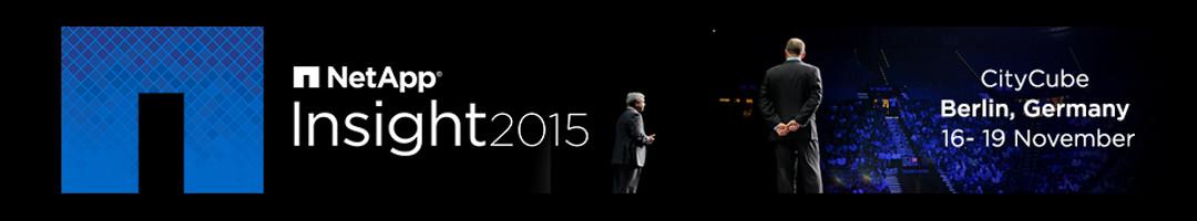 NetApp Insight EMEA 2015