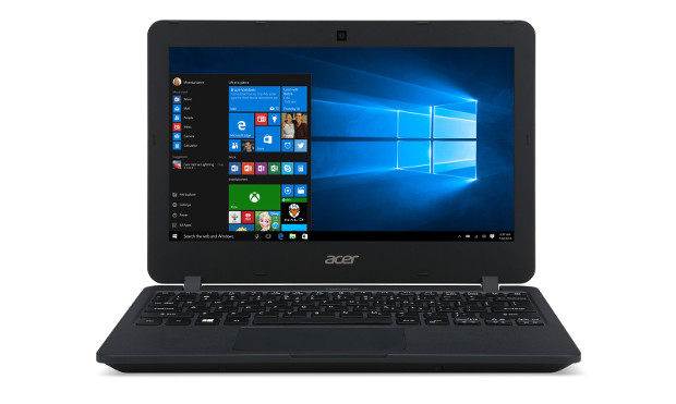 Acer TravelMate B117 front