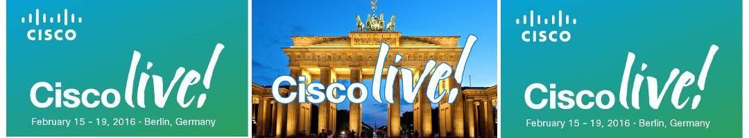 Cisco Live! EMEA 2016