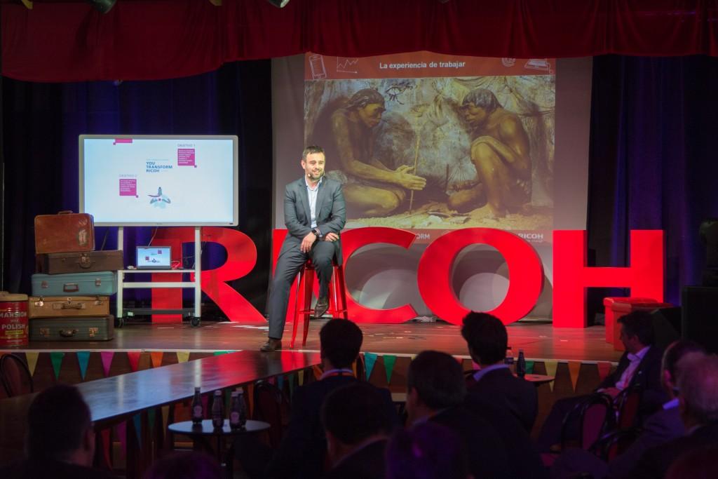 Xavier Fernández Taberner, Director de Marketing, Comunicación y Distribución de Ricoh España