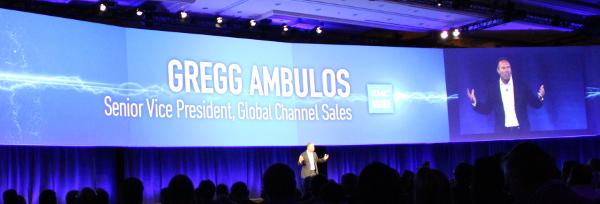 Greg Ambulos, EMC World