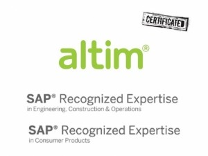 SAP Recognized Expertise altim