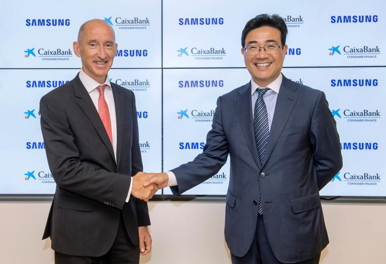 SAMSUNG y CaixaBank