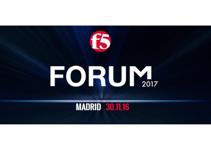 Actualidad F5 Networks celebra su Forum Iberia el 30 de noviembre