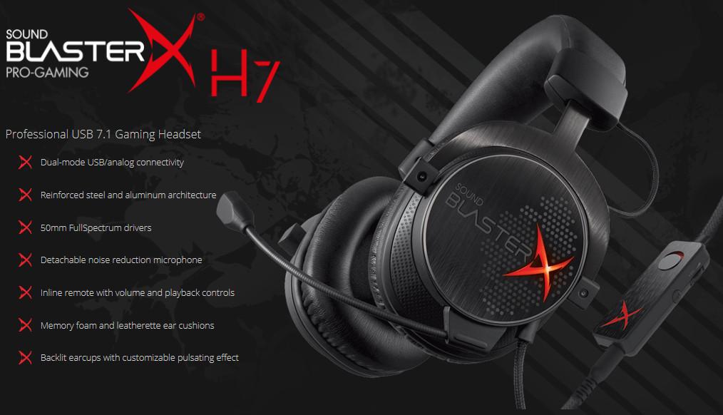 Creative BlasterX H7