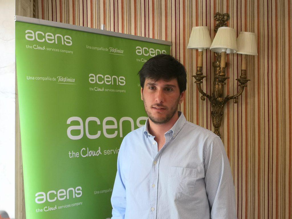 Alberto Viroulet, responsable de Canal indirecto de acens España