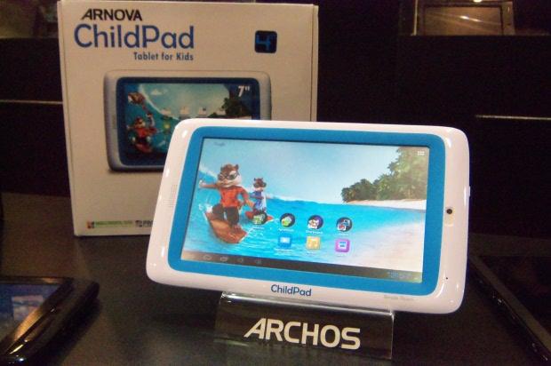 El tablet de Archos para niños tiene mucha aceptación