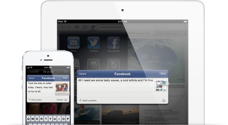 Integración con Facebook